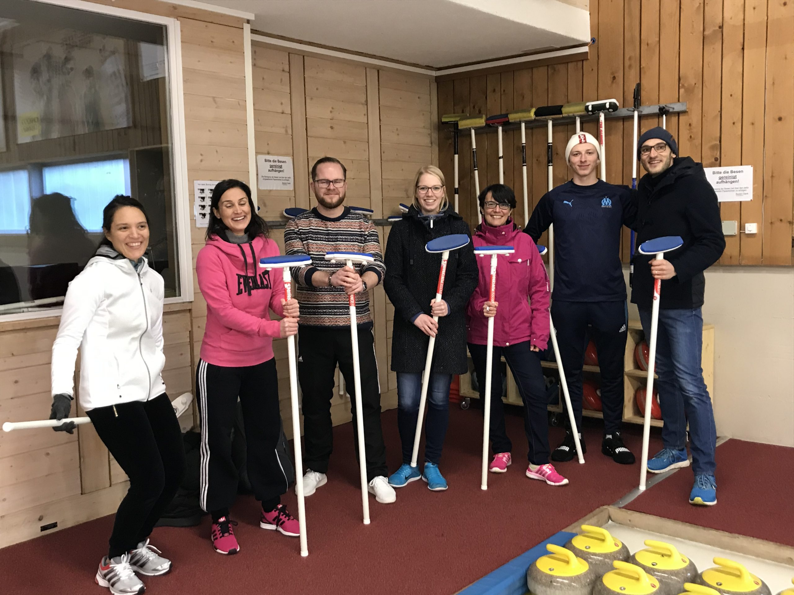 Curling event December 2019